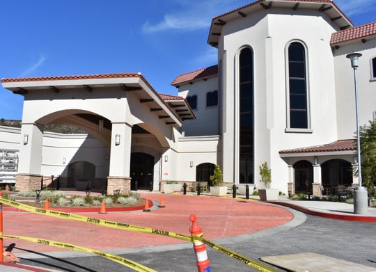 A new addition at St. John's Pleasant Valley Hospital in Camarillo could open by Christmas, according to a hospital leader.
