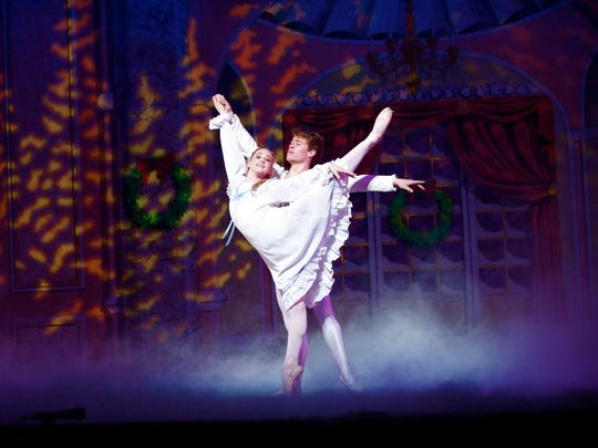"""The Ventura County Ballet is bringing the """"Nutcracker"""" to the stageSaturday and Sunday with shows at 2 p.m. at theOxnard Performing Arts Center,"""