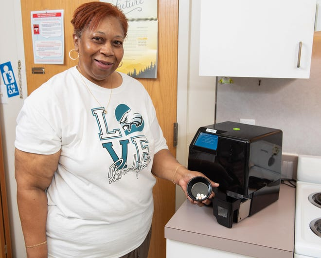 Inspira LIFE participant Jacqueline Smith of Vineland has benefitted from the MedaCube technology.