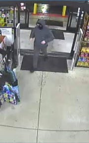 Police say this man is suspected of committing three robberies in Millville.