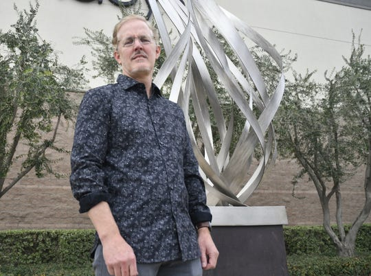 Eric Peltzer works in bronze, stainless steel and aluminum have been commissioned for private, corporate, public, hospital and hospitality environments in cities throughout the United States and Japan, Taiwan, Australia, and Hong Kong.