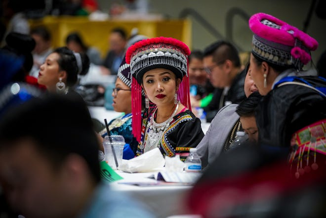 Wisconsin residents attend the Minnesota Hmong New Year, one of the largest Hmong festivals in the country, in November. The Hmong community is now reeling from reports the Trump administration may deport non-U.S. citizens who are Hmong and Laotian and have criminal records.