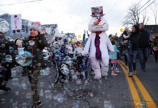 Armonk's annual Frosty Day is Dec. 1, 2019.