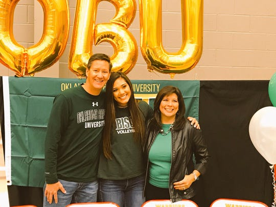 Kelsey McClellan had family plus a lot of friends on hand Monday as fresh off a 2018 state championship the Christ Academy senior made her signing official with Oklahoma Baptist in Shawnee, Oklahoma.