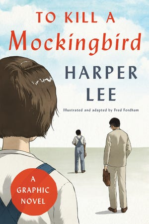 "The graphic novel version of ""To Kill a Mockingbird."""