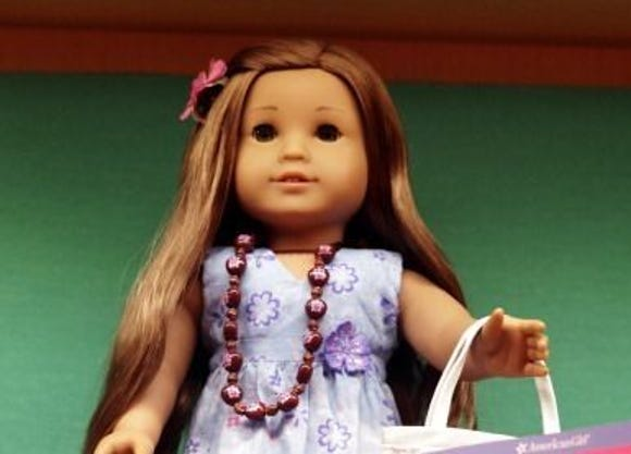 A Kanani Akina doll was a 2011 limited-edition Girl of the Year and is highly coveted among collectors.