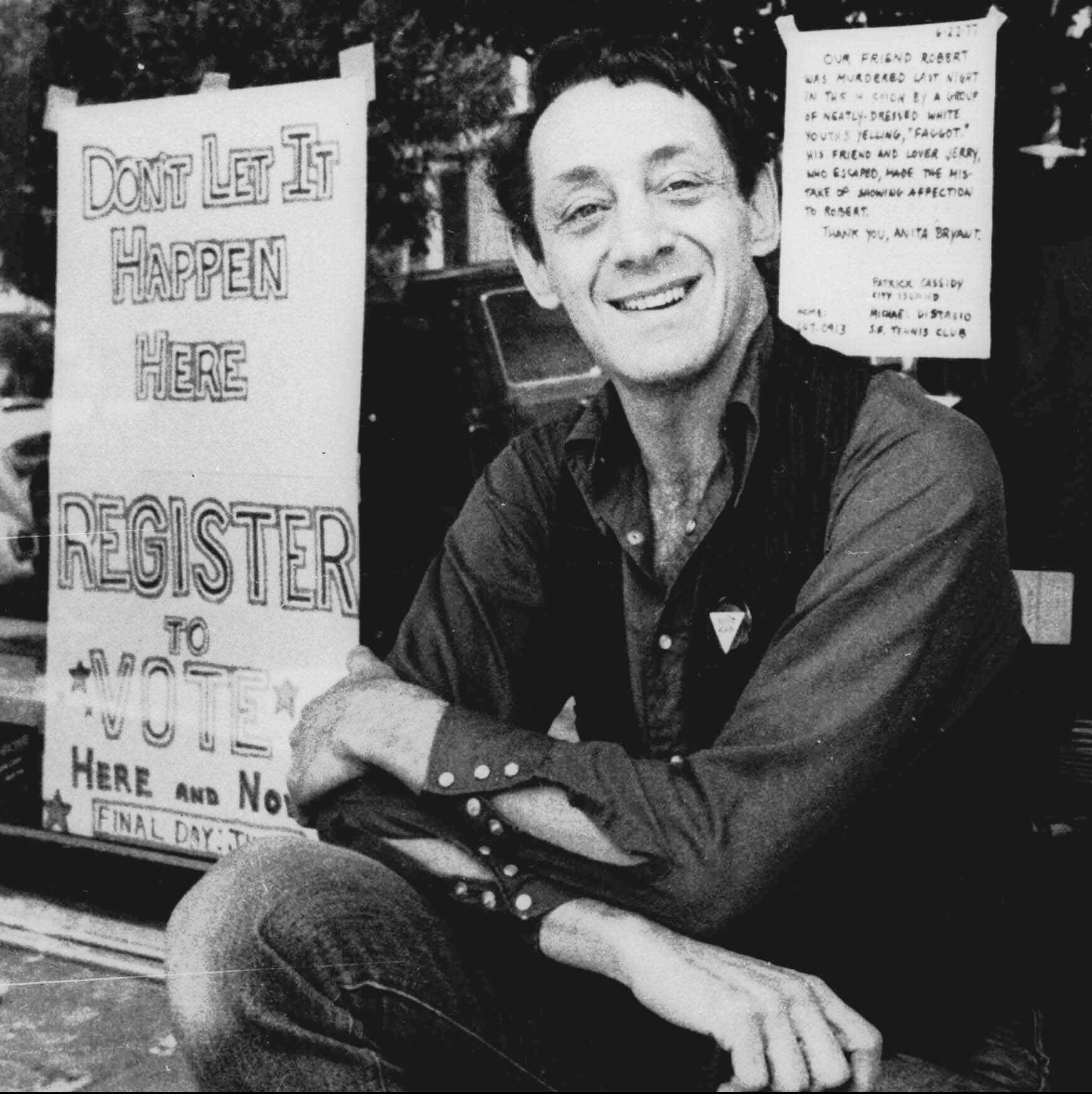Harvey Milk's LGBTQ 'children' remember message of hope 40 years later | Opinion