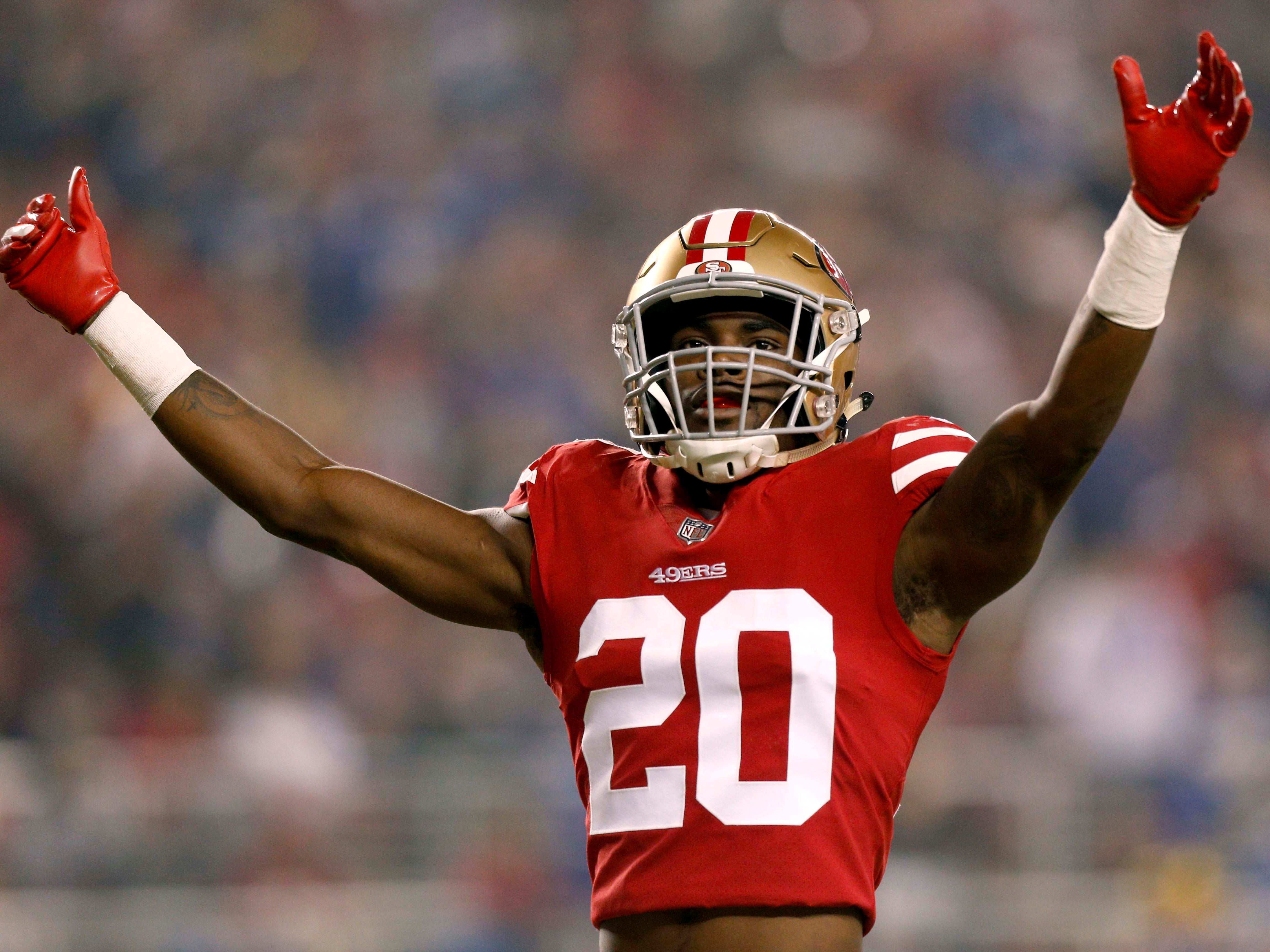 Jimmie Ward, DB, San Francisco 49ers (broken forearm, out for season)