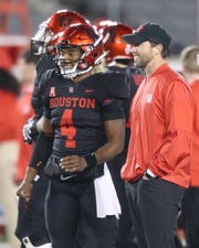 Houston Cougars offensive coordinator Kendal Briles is a candidate for the head coaching job at Texas State.