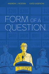 "Andrew J. Rostan recounts his journey to the ""Jeopardy"" buzzer in the graphic memoir ""Form of a Question."""