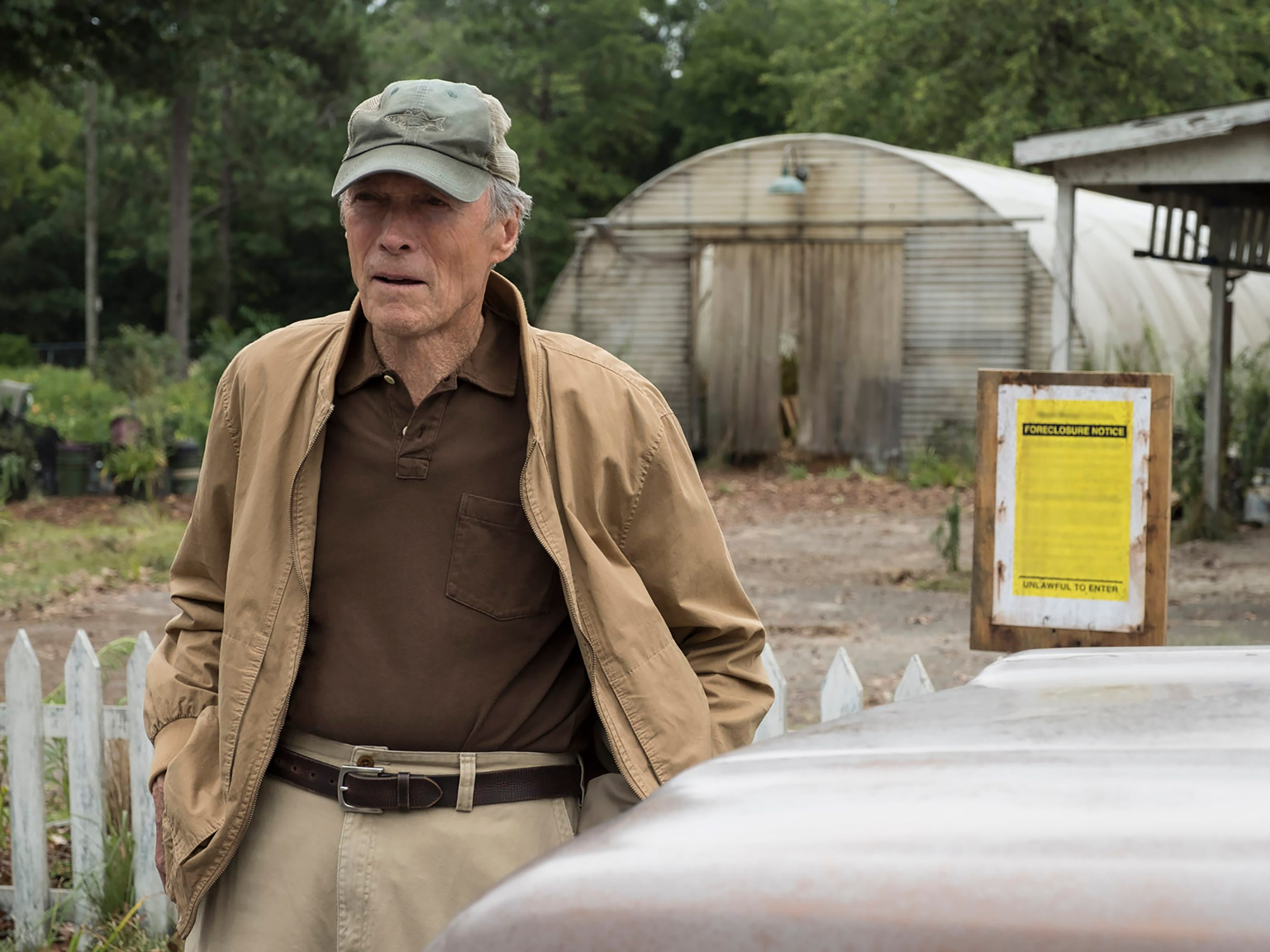"""Clint Eastwood stars as an accidental drug courier in the new drama """"The Mule."""""""