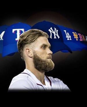 Bryce Harper Yankees illo