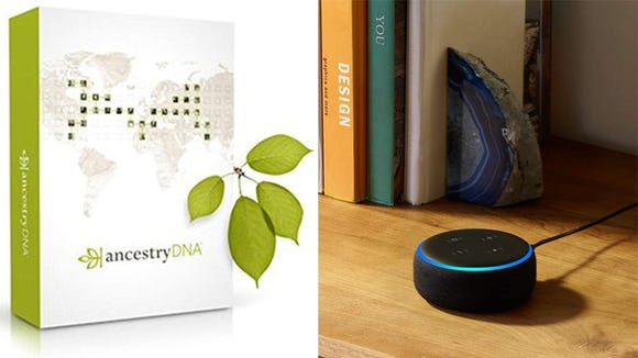 Everyone's going wild for DNA kits and Echo Dots.