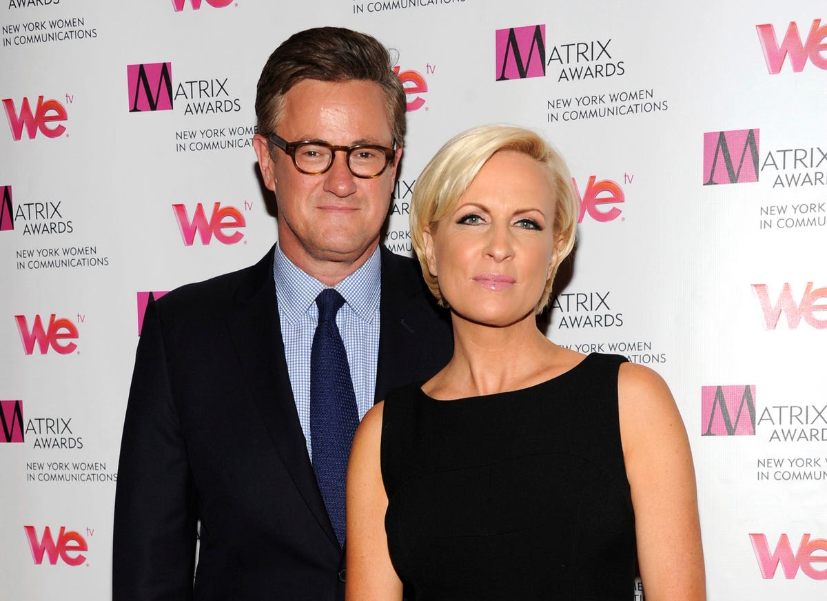 Morning Joe' hosts Joe Scarborough, Mika Brzezinski are married