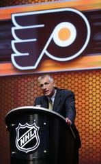Philadelphia Flyers President Paul Holmgren.