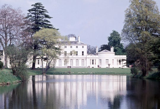 Frogmore House in the grounds of Windsor Home Park, where Prince Harry and Meghan Markle posed for their engagement pictures, where they held one of their wedding receptions, and near Frogmore Cottage where they will make their home base in 2019. (Photo by Ray Bellisario/Popperfoto/Getty Images)