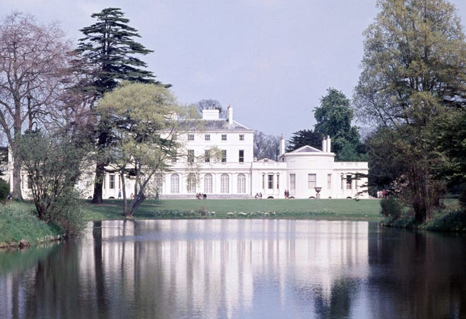 Frogmore House in the grounds of Home Park, Windsor, a Royal retreat and mausoleum, circa 1970. (Photo by Ray Bellisario/Popperfoto/Getty Images)