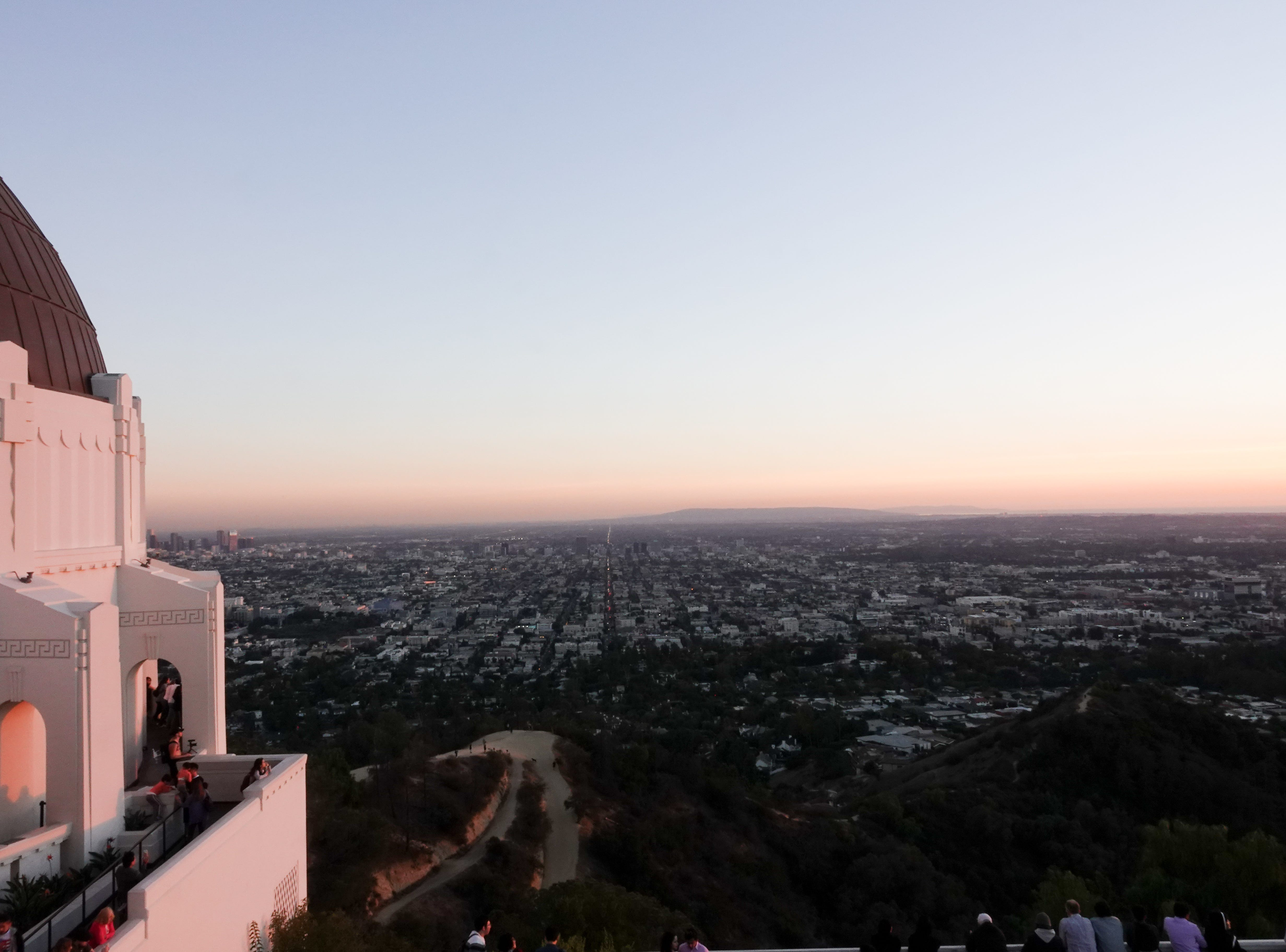 From the side of the Observatory