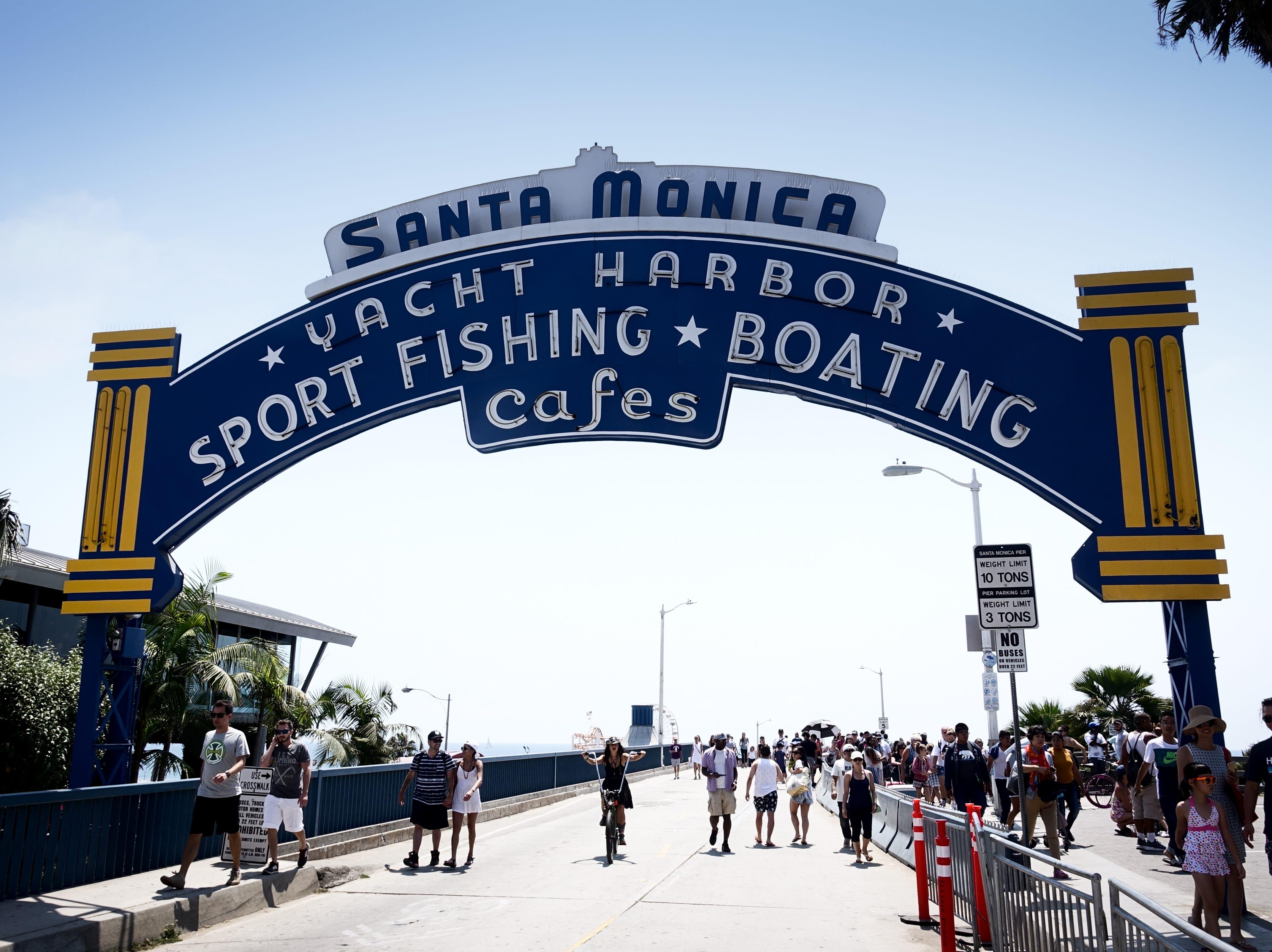 Next stop: Santa Monica and the Santa Monica Pier