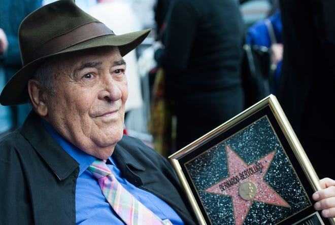 Director Bernardo Bertolucci celebrates his Star on the Hollywood Walk of Fame on November 19, 2013 in Hollywood, California.