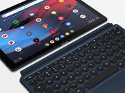 Google Pixel Slate with accessory keyboard.