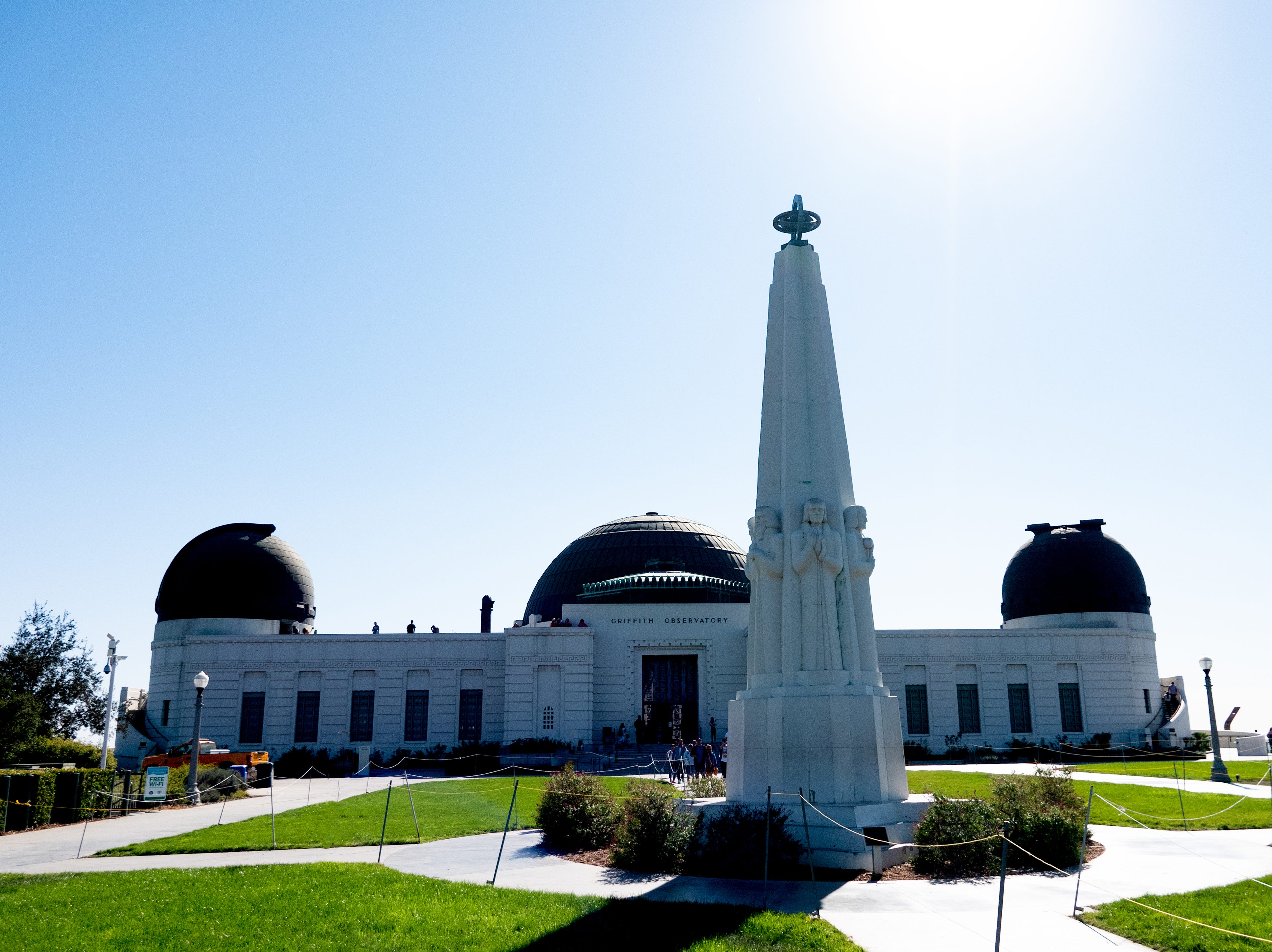 The Griffith Observatory by day. According to Discover Los Angeles, the Observatory is the no. 1 tourist attraction in Los Angeles