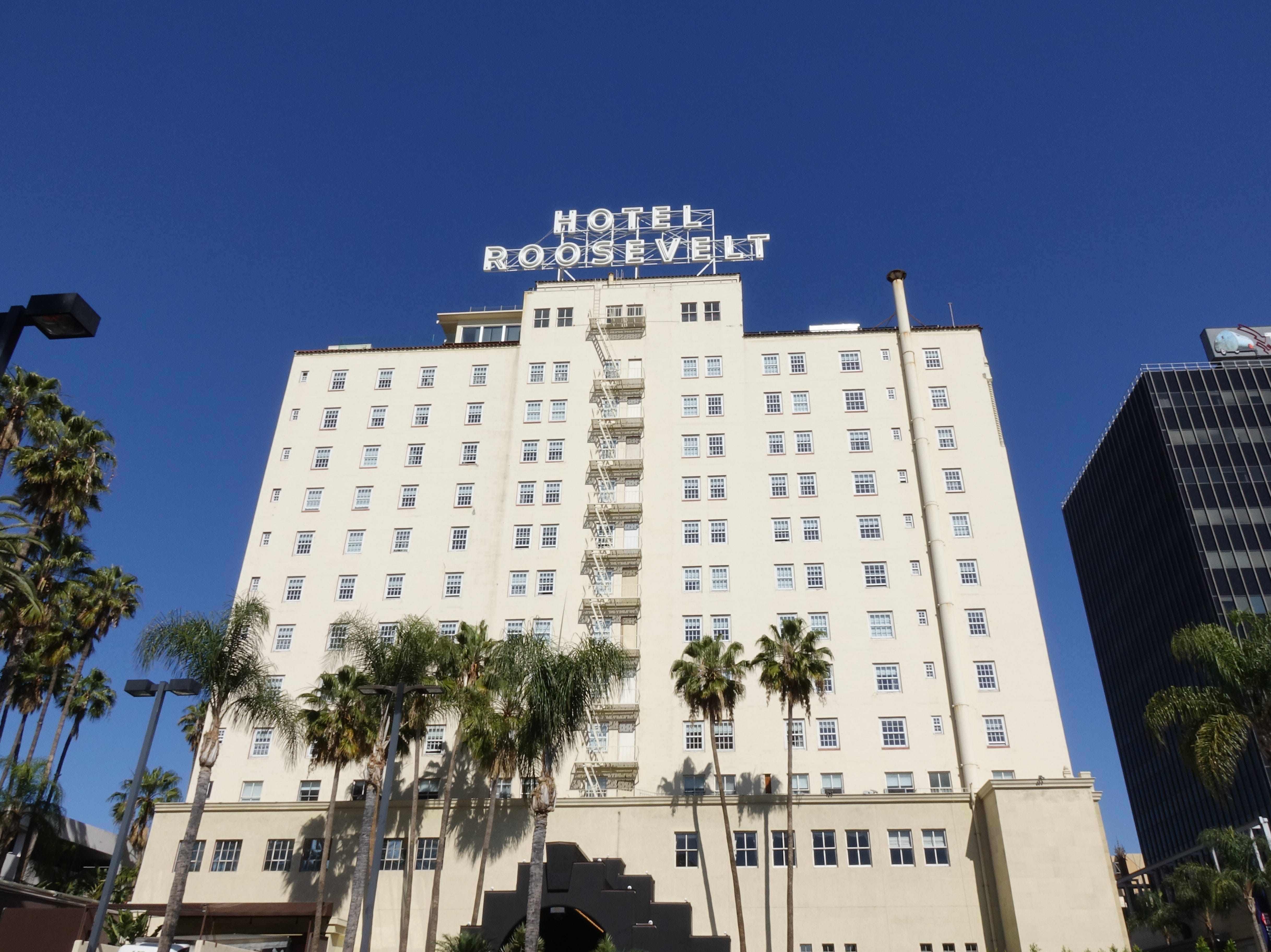 The Hotel Roosevelt in Hollywood