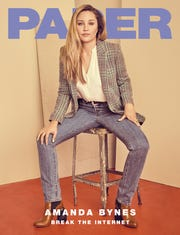 Amanda Bynes is on the latest cover of Paper magazine.