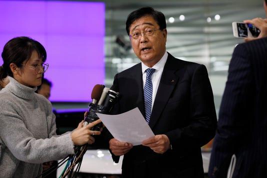 Epa Japan Nissan Mitsubishi Ghosn Arrest Clj Crime Jpn To