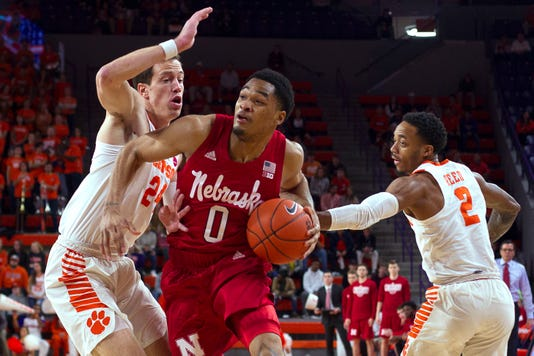 Ncaa Basketball Nebraska At Clemson