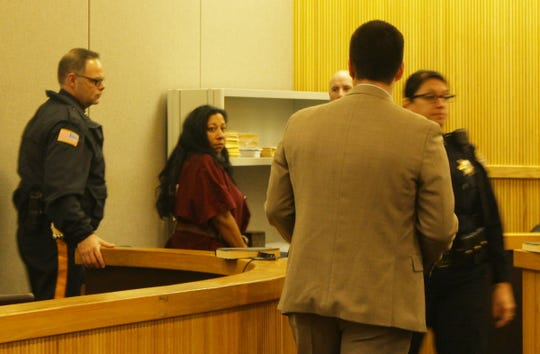 Ranu Sinha appeared before Judge Joseph W. Oxley Wednesday morning. Two suspects were charged in connection with a 2011 robbery spree and the murder of a Freehold man, Michael Conway. Freehold, NJ Wednesday, December 23, 2015