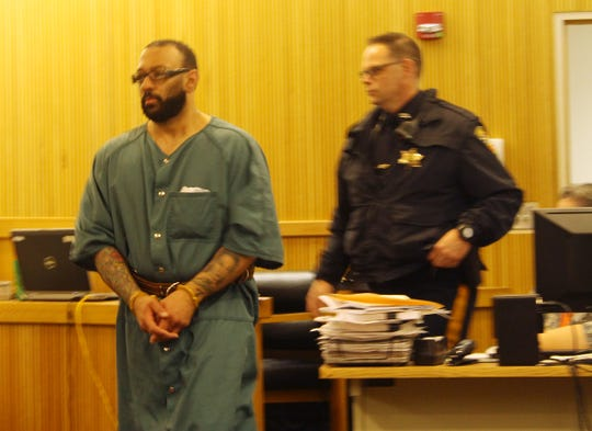 Ellis Goodson appeared before Judge Joseph W. Oxley Wednesday morning. Two suspects were charged in connection to a 2011 robbery spree and the murder of a Freehold man, Michael Conway. Freehold, NJ Wednesday, December 23, 2015