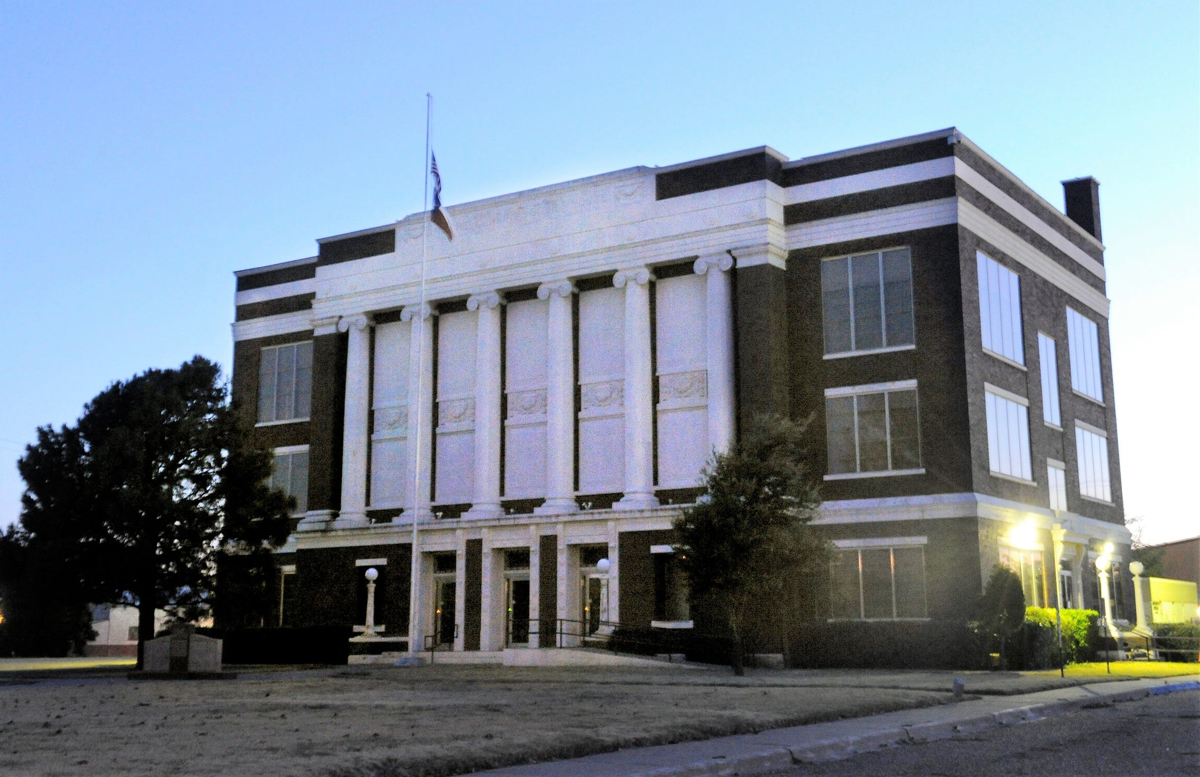 The Mitchell County Courthouse in Colorado City