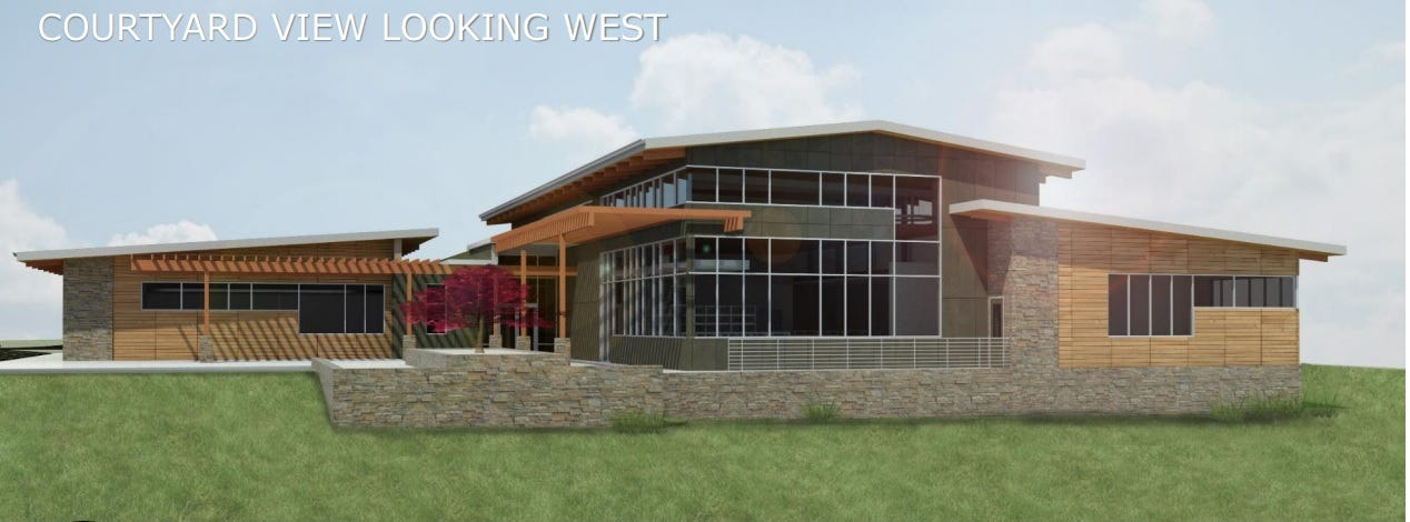A more than 14,000-square-foot library will replace the East Asheville branch.