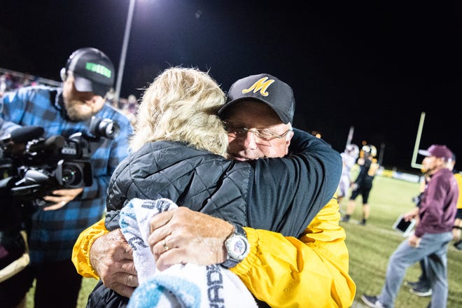 Murphy coach David Gentry won his eight state title on Saturday. But will he be back to win another?