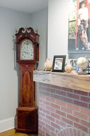 An old clock passed down through the generations of Marc Voorhees' family was brought over to the United States from Holland in the late 1600s.