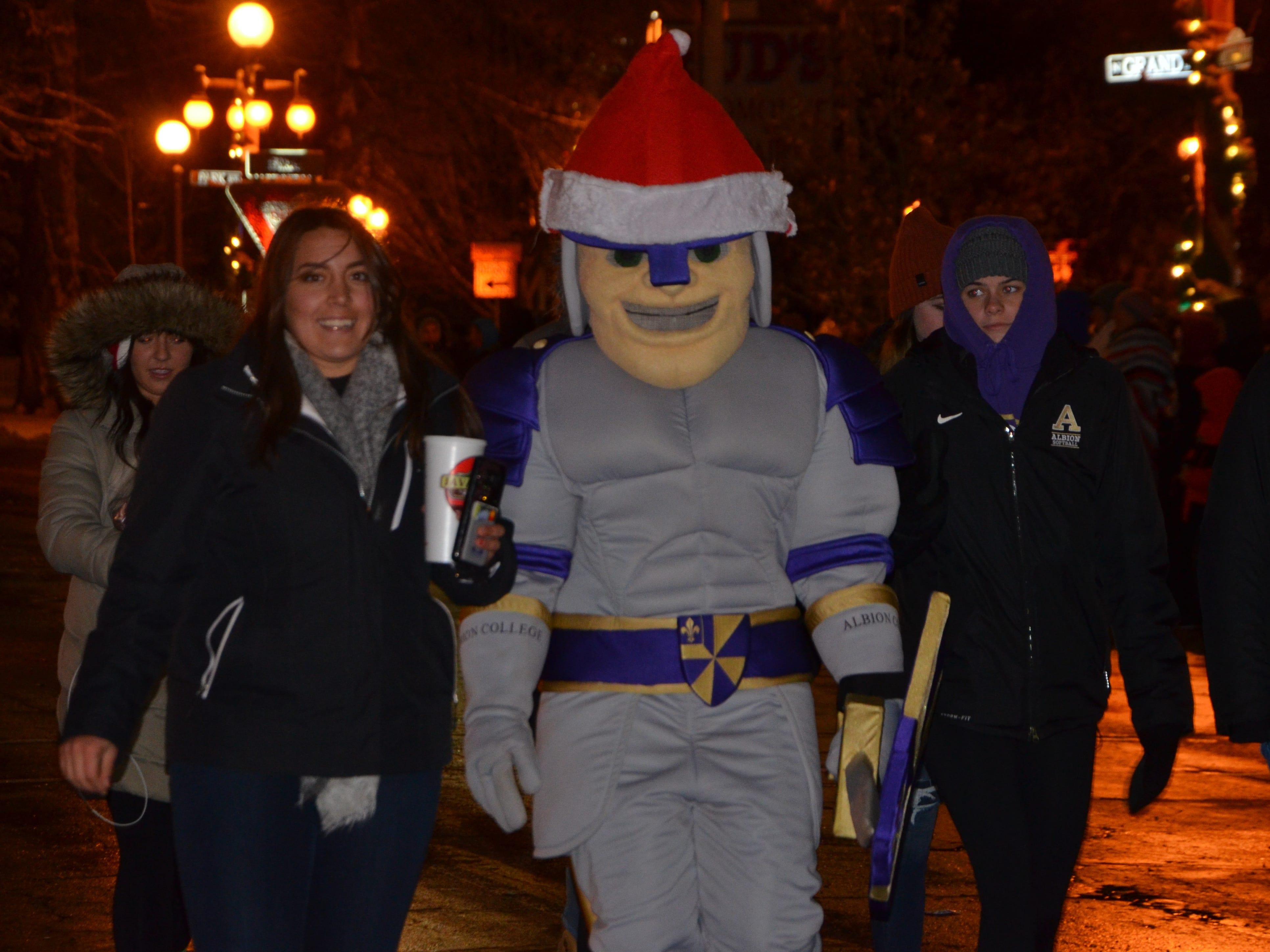 54th Marshall Christmas Parade, November 26, 2018.