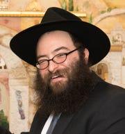 Rabbi Levi Slonim, of Chabad of Binghamton.