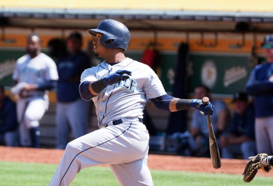 Mlb Seattle Mariners At Oakland Athletics