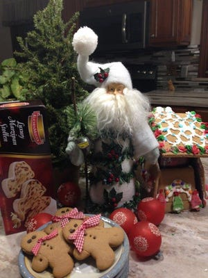 """Preparations are underway for """"Remembering the Holidays"""" at the Harvey One-Room School and Farmstead. The event will be from1 to 4 p.m. Dec. 2at 1120 Caldwell Road.It brings touches of Germany, like gingerbread."""