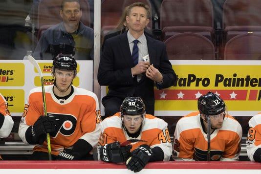 Nhl Boston Bruins At Philadelphia Flyers