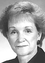 Photo of Martha Dorsey while serving as a Clermont County Commissioner.