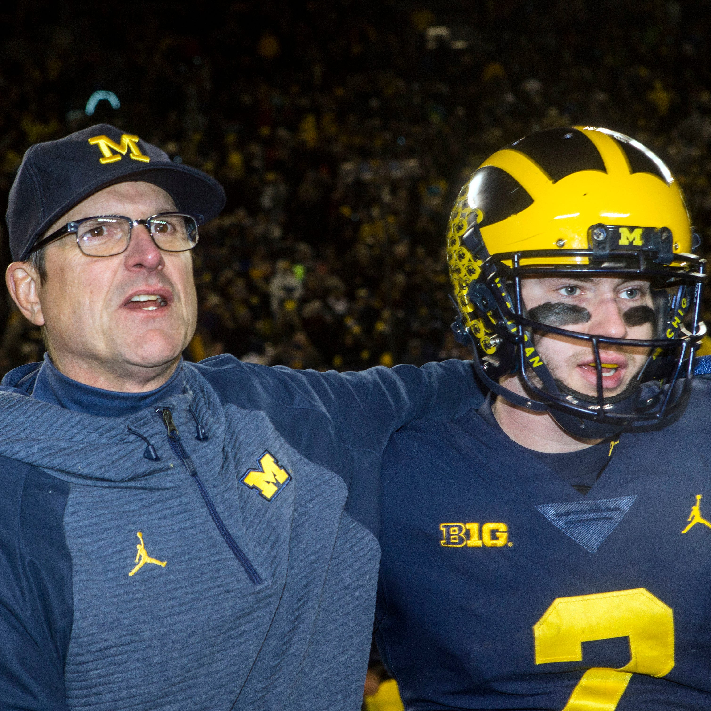 Michigan football's Shea Patterson unsure on going to NFL or returning
