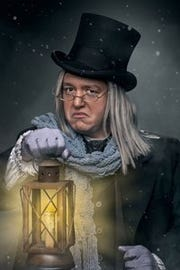 Theatre and Dance at Wayne has pared the Ebenezer Scrooge story to a brisk 75 minutes.