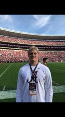 Braiden McGregor came back from Tuscaloosa with a scholarship offer from Nick Saban.