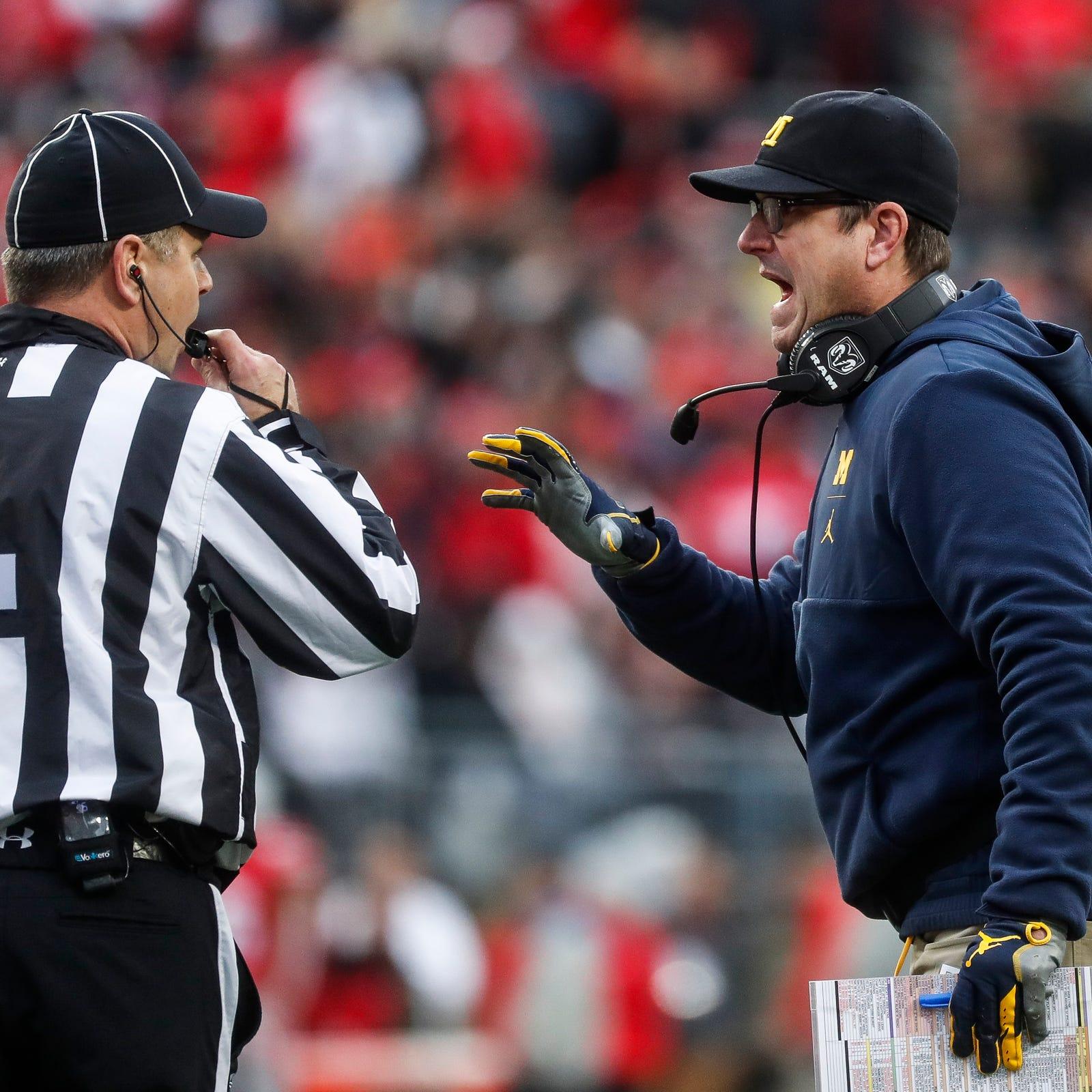 Jim Harbaugh to ESPN: 'I'm staying at Michigan'