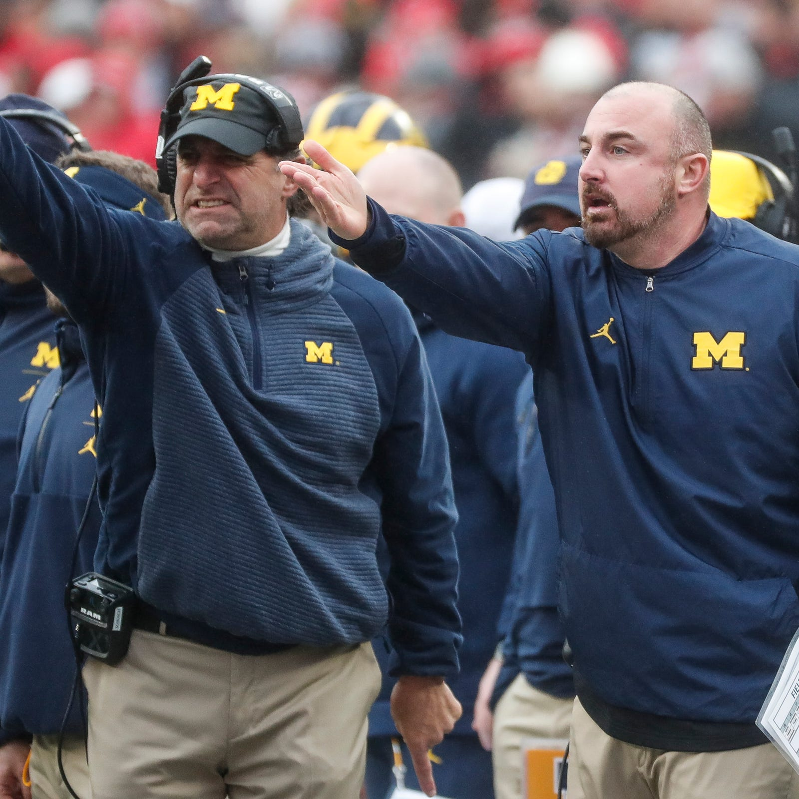 Michigan football's Chris Partridge: Coaches leaving for Ohio State isn't OK