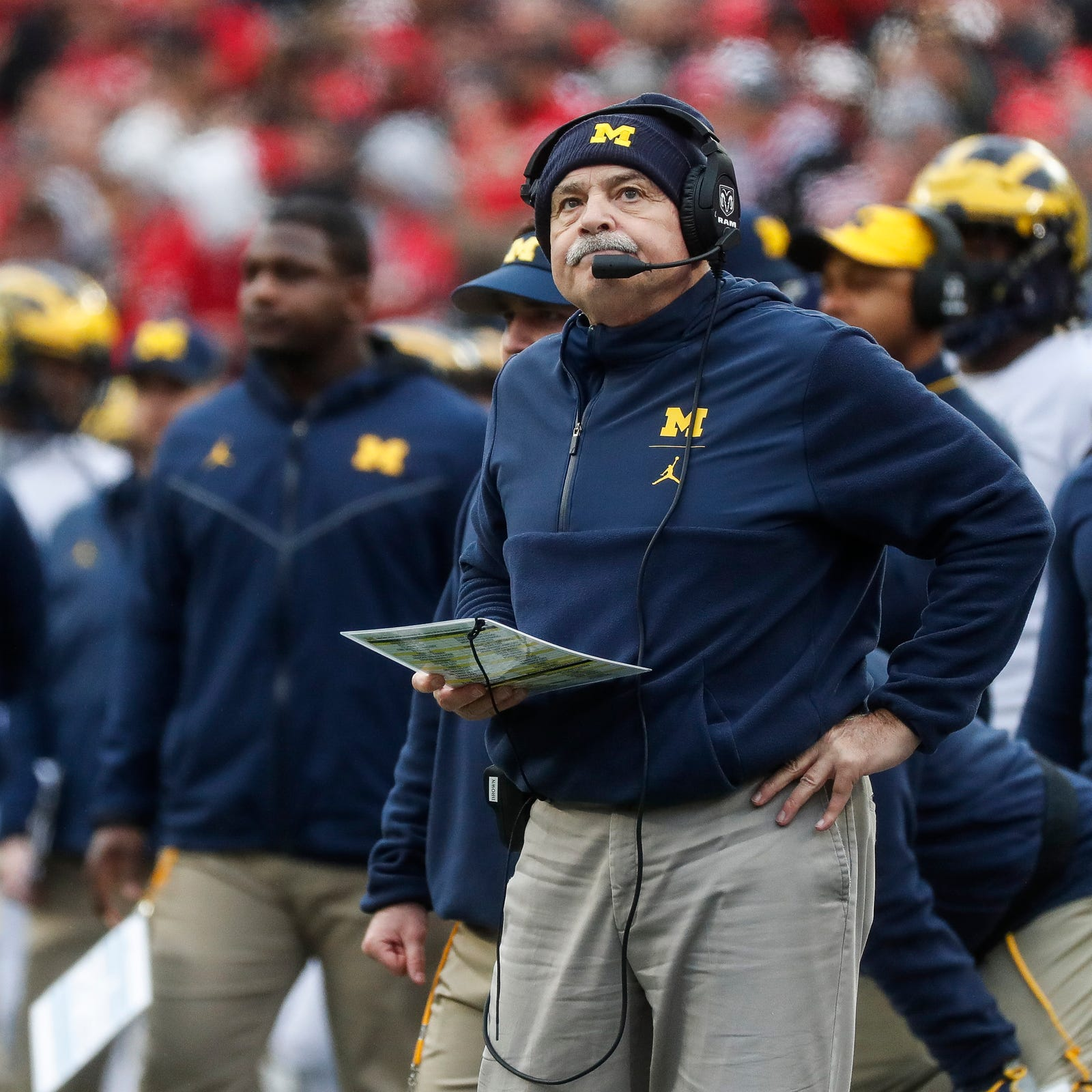 Michigan football's Don Brown reportedly interviews for Temple job