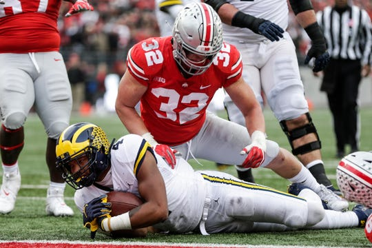 Ohio State has won 14 of the past 15 meetings against Michigan.