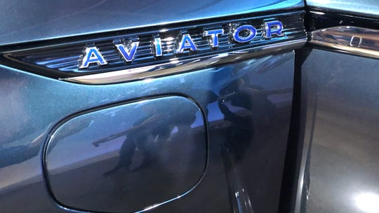 The Aviator will offer a plug-in hybrid model with this charge port